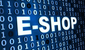 Hintergrund des binären Codes Lizenzfreie Stockfotos
