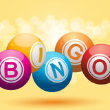 Hintergrund des Bingo 3d Stockbilder