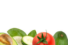 Hintergrund des biologischen Lebensmittels lizenzfreies stockfoto