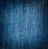 Hintergrund des blauen Baumwollstoffs Lizenzfreies Stockfoto