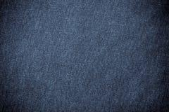 Hintergrund des blauen Baumwollstoffs Stockbilder