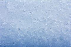 Hintergrund des blauen Eises Lizenzfreie Stockfotografie