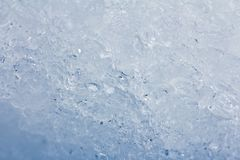Hintergrund des blauen Eises Stockfoto