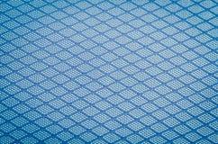 Hintergrund des blauen Gewebes Lizenzfreies Stockbild