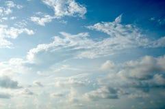 Hintergrund des blauen Himmels Stockbilder