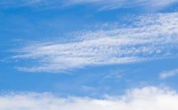 Hintergrund des blauen Himmels Lizenzfreies Stockbild