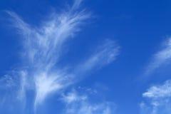 Hintergrund des blauen Himmels Lizenzfreie Stockbilder