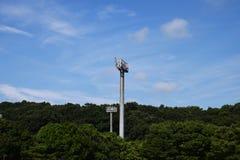 Hintergrund des blauen Himmels Lizenzfreies Stockfoto