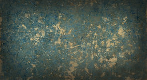 Hintergrund des blauen Papiers des alten getragenen heraus Papiers Lizenzfreie Stockbilder