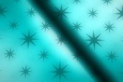 Hintergrund des blauen Sternes lizenzfreie abbildung