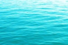 Hintergrund des blauen Wassers Lizenzfreie Stockfotografie