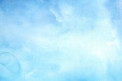 Hintergrund des blauen Wassers Farb Lizenzfreies Stockfoto