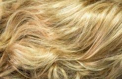 Hintergrund des blonden Haares Lizenzfreie Stockfotografie