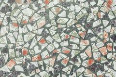 Hintergrund des defekten Mosaiks Lizenzfreie Stockfotografie