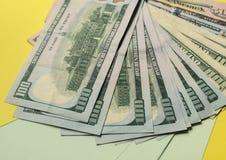 Hintergrund des Dollars stockbild