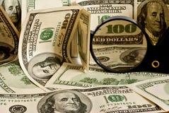 Hintergrund des Dollars Lizenzfreies Stockfoto