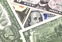 Hintergrund des Dollars Stockbilder