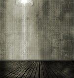 Hintergrund des dunklen Raumes Stockbild
