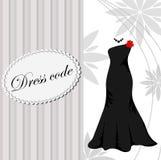 Hintergrund des eleganten Kleides Lizenzfreies Stockbild