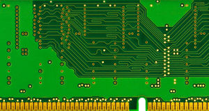 Hintergrund des elektronischen Kreisläufs Stockbild