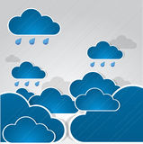 Hintergrund des falschen Wetters. Lizenzfreie Stockfotos