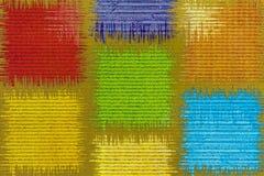 Hintergrund des farbigen Papiers Stockfotografie