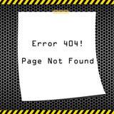 Hintergrund des Fehlers 404 stockfotos
