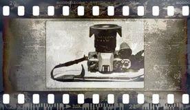 Hintergrund des Filmfeldes (Beschaffenheit, Fotos, Geräusche) Lizenzfreie Stockfotos