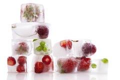 Hintergrund des frischen Obst und Gemüse. Lizenzfreie Stockfotos