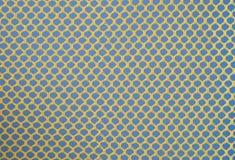 Hintergrund des gelben Rasterfeldes Lizenzfreies Stockfoto