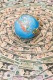 Hintergrund des Geldes Lizenzfreie Stockfotografie