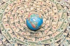 Hintergrund des Geldes Stockbilder