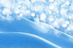Hintergrund des glänzenden Schnees stockfotos
