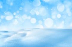 Hintergrund des glänzenden Schnees Lizenzfreie Stockfotografie