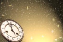 Hintergrund des glücklichen neuen Jahres Lizenzfreie Stockfotos