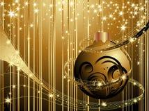 Hintergrund des glücklichen neuen Jahres vektor abbildung