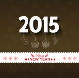 Hintergrund des glücklichen neuen Jahres Lizenzfreie Stockfotografie