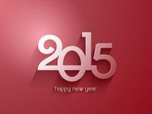 Hintergrund des glücklichen neuen Jahres Stockbild