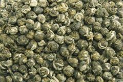 Hintergrund des grünen Tees Lizenzfreie Stockbilder