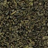 Hintergrund des grünen Tees Lizenzfreie Stockfotos