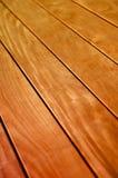Hintergrund des hölzernen Fußbodens oder der Plattform Lizenzfreie Stockfotos