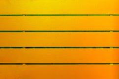 Hintergrund des Holzes gelber und grüner gemalt Stockbilder