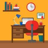 Hintergrund des Innenraums des Raumes für Schüler Lizenzfreies Stockfoto