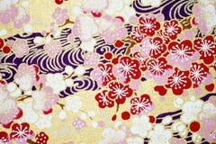 Hintergrund des japanischen Papiers Stockfotos