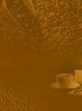 Hintergrund des Kaffees Lizenzfreies Stockbild