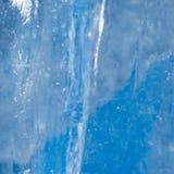 Hintergrund des kalten Eises Stockfotografie
