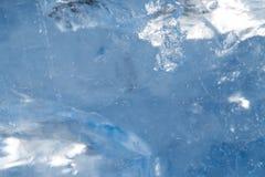 Hintergrund des kalten Eises Lizenzfreies Stockfoto