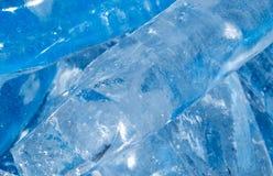 Hintergrund des kalten Eises Lizenzfreies Stockbild