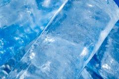 Hintergrund des kalten Eises Lizenzfreie Stockbilder