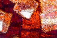 Hintergrund des Kolabaums mit Eis Lizenzfreie Stockbilder